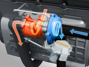 continental euro6 integrated turbocharger