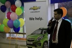 Catalin Manta, Country Manager Chevrolet Romania
