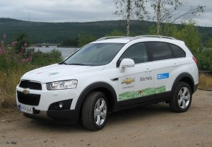 Chevrolet Captiva for SOS Chieldren's Village